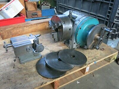 Large Cincinnati 12 Dividing Head W Buck Chuck Tailstock- Milling Machine