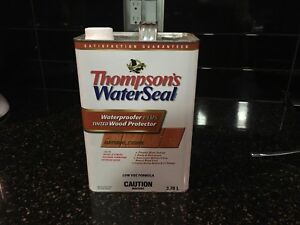 Thompson's WaterSeal full can $10