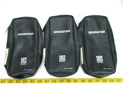 Lot Of 3 Sensidyne Accessory Bags For Gastec Gas Dectector Bag Only Black Skuat