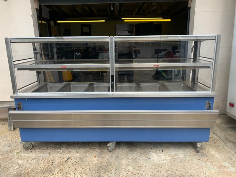 6 Well Steam Table/ Serving Line