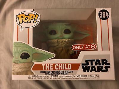 Funko Pop! Star Wars Mandalorian Grogu THE CHILD (Concerned) Target Exclusive