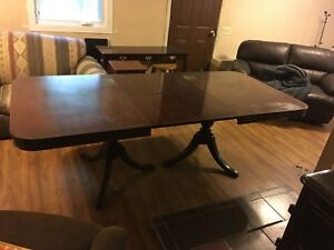 Antique Brickwede dining table
