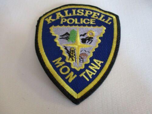 Kalispell Montana Police Department Shoulder Patch