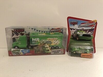 Disney Pixar Cars Chick Hicks Hauler #2 Race O Rama NIB Mattel RARE Lot