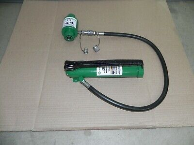 Greenlee Hydraulic Hand Pump 767 With Ram 746 For Use W. 731073067506800 Nice