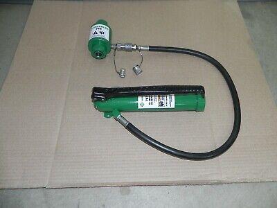 Greenlee Hydraulic Hand Pump 767 With Ram 746 For Use W. 731073067506800 Nice
