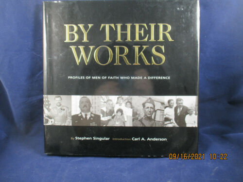 KNIGHTS OF COLUMBUS - Book  By THEIR WORKS -First Edition Signed