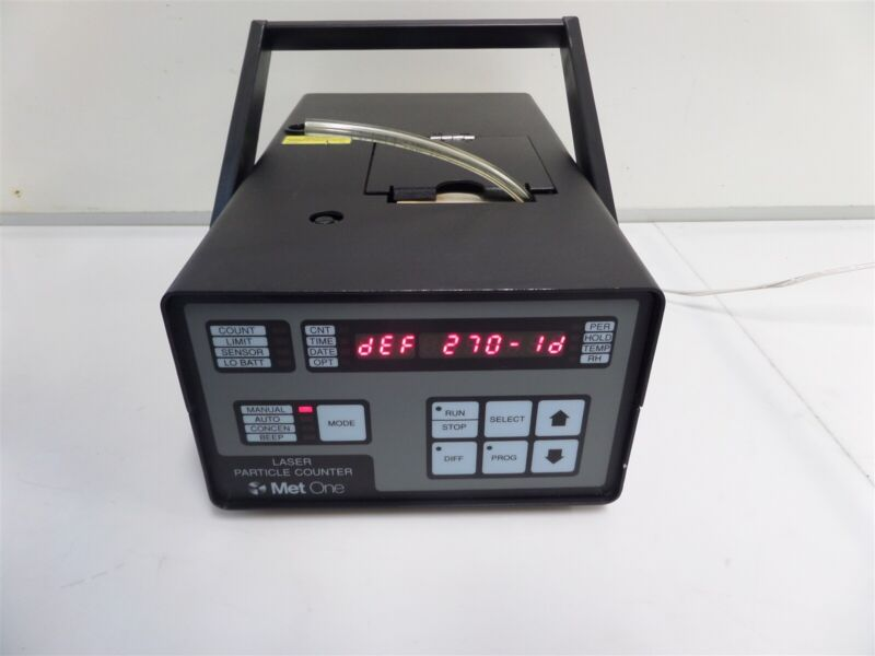 Met One Laser Particle Counter Model 237B