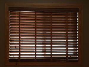 Slated blinds