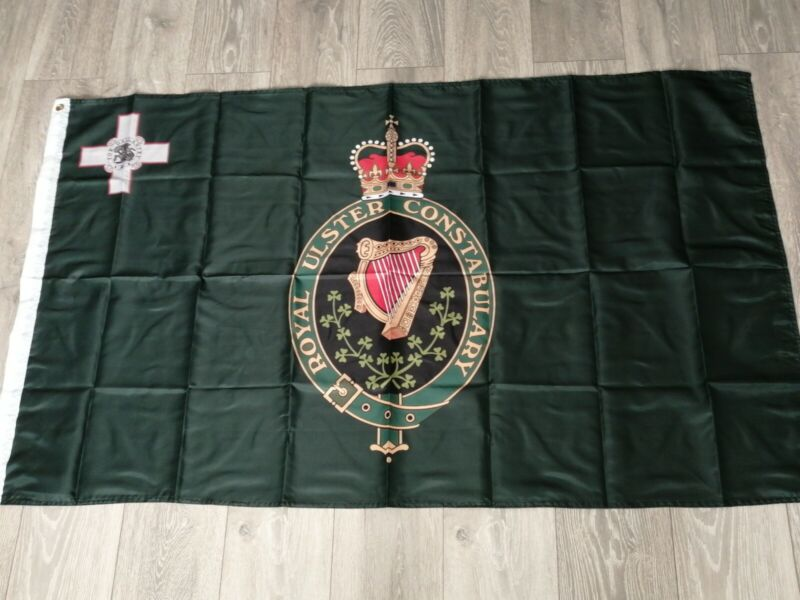 Royal Ulster Constabulary RUC George Cross Flag 3X5FT