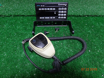 Motorola Spectra Astro Xtl5000 Vhf Sys 9000 Hcn1078j W9 Head Mic Bracket