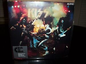 KISS-ALIVE-live-2-LP-180G-set-Sealed
