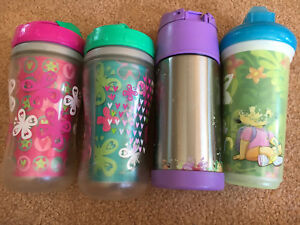 4 Insulated Straw Cups