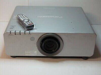 Panasonic PT-DW640US DLP Projector 6000 lumen, 813 Runtime Hours, Remote, HDMI