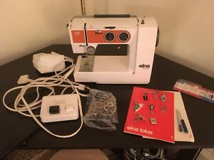 Elna TSP portable sewing machine
