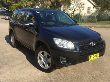 2011 Toyota RAV4 CV Auto Wagon One Owner 55,000Klms Homebush West Strathfield Area Preview