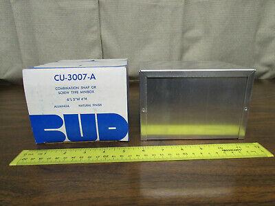 Bud Cu-3007-a Minibox Electronics Project Box 6x5x4 New