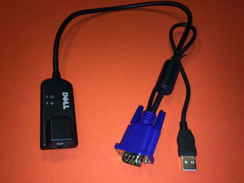 DELL 0NMW64 0CPF14 USB USB2 PowerEdge KVM Switch Virtual Media Module POD Cable