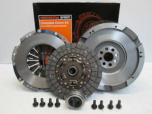 TOYOTA AVENSIS 2.0 D4D CLUTCH KIT AND SOLID FLYWHEEL NEW KF130