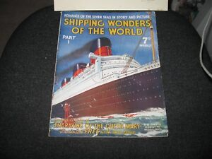 Shipping Wonders of the World Magazines - All 55 Issues 1936/37 - Good Condition