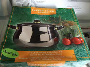 12qt brand new stainless steel pot