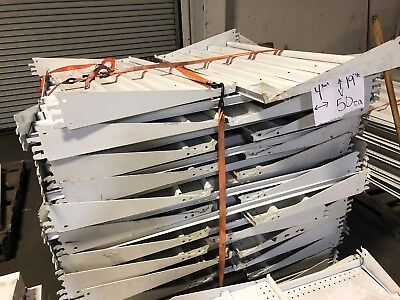 Gondola Store Shelving 48 X 19.5 White 50 Available Used