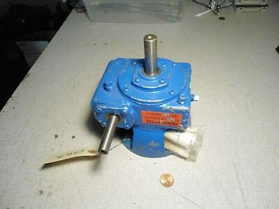 Morse Industrial 17lv Rvd Gearbox Motor Gear Reducer Ratio 45
