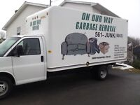 On Our Way Garbage Removal 902-561-5865(JUNK)