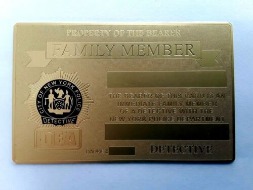 2021 DEA  PBA GOLD BRASS CARD , ***NOT ENGRAVED***NOT SIGNED***