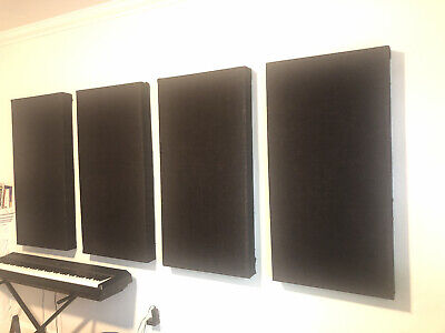 "Handmade Acoustic Panels 2'x4'x4"""