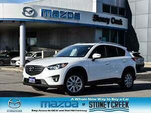 2016 Mazda CX-5 GS Moonroof Foglights Rear Cam Heated Seats