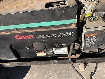 Used Onan Marquis 7000 Rv Generator