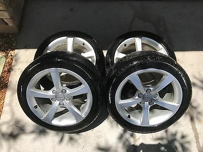 2016 Audi A3 17 Stock Rims  Tires w Wheel Locks