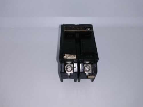 GE GENERAL ELECTRIC THQAL21100 100 Amp 2 Pole 120/240V CIRCUIT BREAKER THQAL