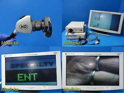 Stryker 1088 Hd Endoscopy Sys W 1088 Cameraled3000 Light Sourcemonitor 20883