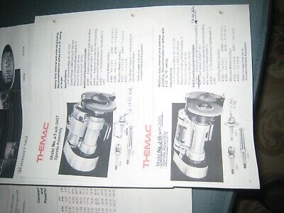Themac Tool Post Grd. Manualj45 Etcspec. Parts6 Pages Tool