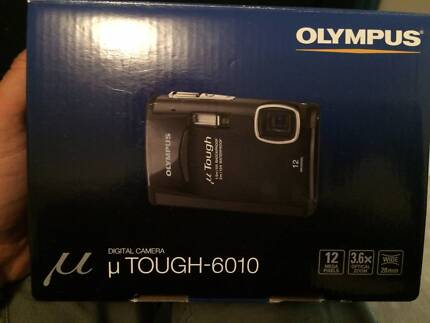 "Olympus ""u Tough-6010"" 12MP - NEVER USED - 3.6xOPT Zoom & 2g SD Inglewood Stirling Area Preview"