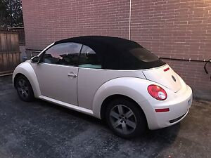 Beetle convertible - safeties and E-tested fully loaded
