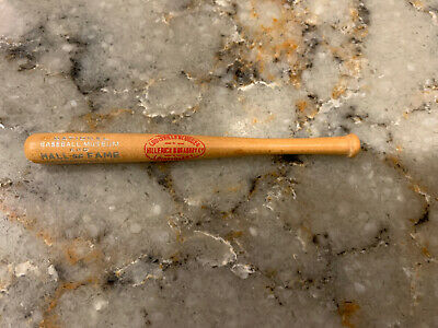"Vintage 1950s MLB Hall Of Fame Louisville Slugger 4.5"" MINI BASEBALL BAT rare"