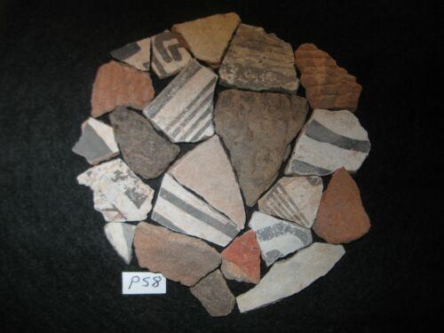 Arizona Anasazi Pottery Shards, Prehistoric Indian Artifacts, FREE SHIPPING #PS8