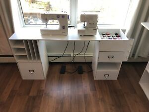 Arts and crafts sewing  table and desk
