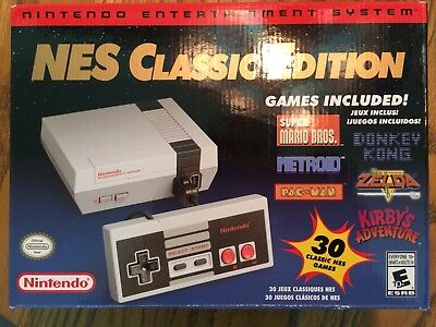 Nintendo NES Classic Version Mini Modded w/ 1600+ NES, Genesis, & SNES Games New