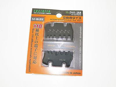 (Engineer PAD-13 Crimper 12-S die  crimp tool MOLEX JAE JST TYCO DEUTSCH )
