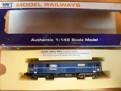 COLLECTABLE DAPOL N Gauge Locomotive MAINLINE LIVERY 73114 MIB