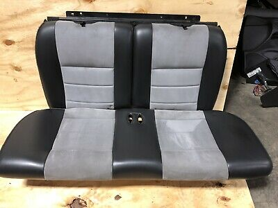 2003-2004 Ford Mustang SVT Cobra Rear Seats Coupe 03 04 99-04 Leather Alcantara for sale  Shipping to Canada