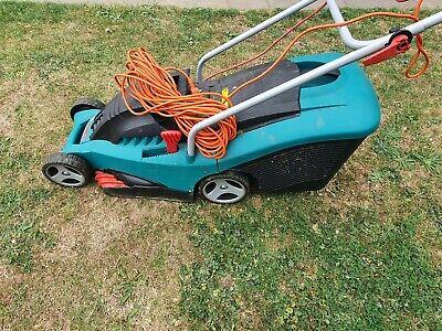 Bosch Rotak 34 Ergoflex Electric Rotary Lawnmower (34 cm Cutting Width)