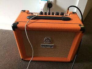 Orange Crush 20 amplifier Waterloo Inner Sydney Preview