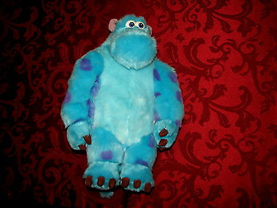 Disney Store Authentic Monsters Inc. Sulley Kitty Plush - Kitty Monsters Inc