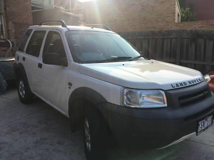 2001 Land Rover Freelander Wagon
