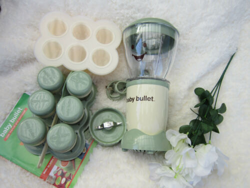 Magic Bullet Baby Bullet Baby Food Maker Kitchen Blender Set Used Clean